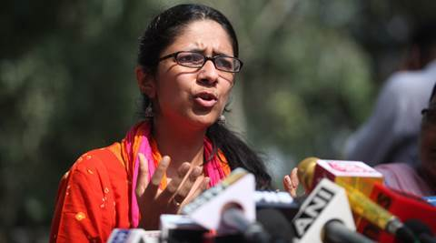 DCW chief Swati Maliwal Claims Narendra Modi Government was supporting a prostitution racket in New Delhi's GB Road area