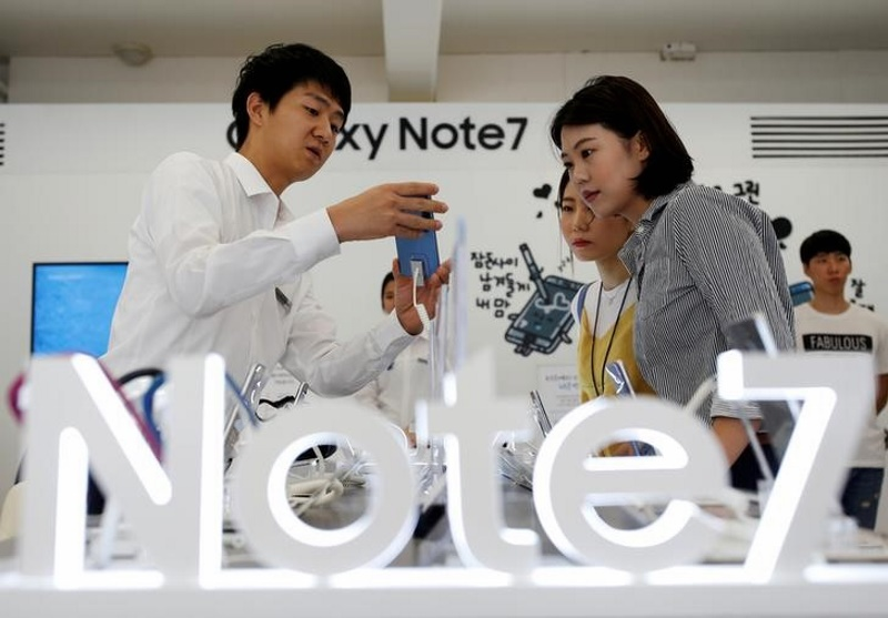 South Korea Orders X-Ray Tests to Check Samsung Electronic's Batteries