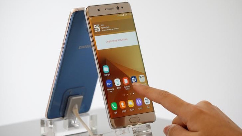 Phone News : Samsung Says Over 1 Million People Are Using 'Safe' Galaxy Note 7
