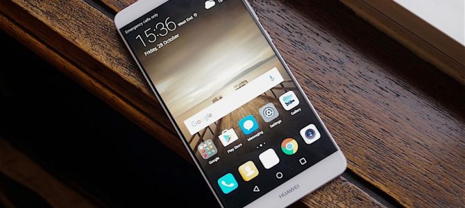 Huawei's Mate 9 will be the first phone with Alexa preinstalled